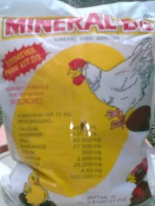 mineral yang mengandung kandugan kalsium yang bagus untuk ayam bangkok